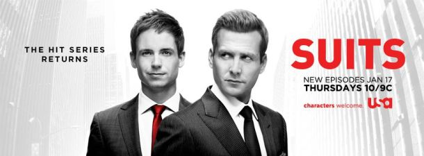 SUITS RETURNS JAN 17