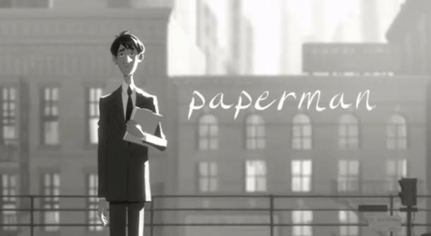 Paperman: Walt Disney Animated Short
