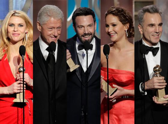 Globes Winners