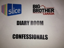 Shhh.... diary room taping in progress.
