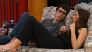 Peter gets close to Liza early on in the game, forming a strong bond and ally in the house.