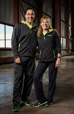 Hal Johnson and Joanne McLeod - Married Fitness Icons (Photo courtesy of CTV)