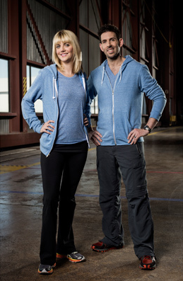 Holly Agostino and Brett Burstein - Married Doctors (Photo courtesy of CTV)