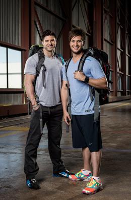 Jet Black and Dave Schram - Best Friends (Photo courtesy of CTV)