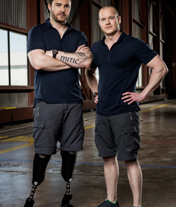 Jody and Cory Mitic - Brothers (Photo courtesy of CTV)