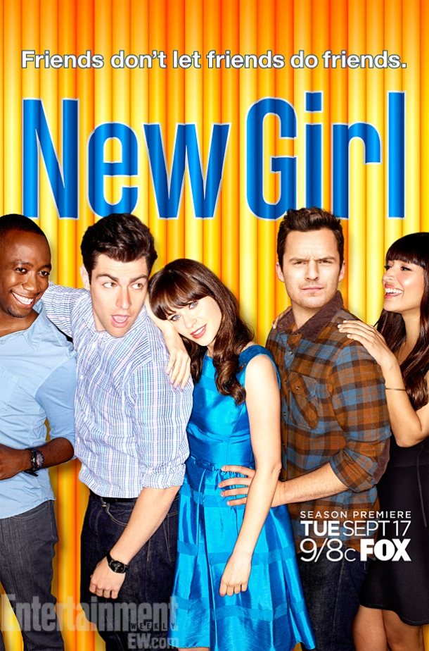 New Girl Season 3 Poster