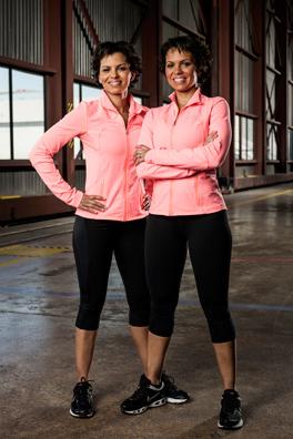 Treena Ley and Tennille Dorrington - Twin Sisters (Photo courtesy of CTV)