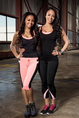 Vanessa Morgan and Celina Mziray - Sisters (Photo courtesy of CTV)