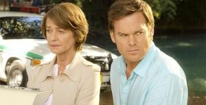 "Dr. Evelyn Vogel arrives on the scene to help Dexter with his ""dark passenger""."