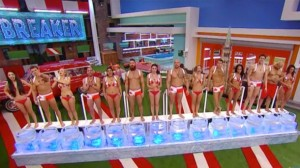 """First HOH Competition, entitled """"Ice Breaker"""", Paul outlasts all others."""