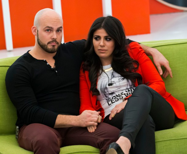 Big Brother Canada S2_Andrew Gordon and Sabrina Abbate