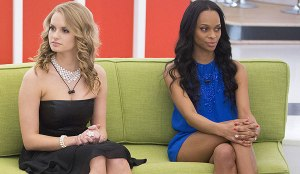 Ika sits on the block, moments before being evicted from the BBCAN2 house.