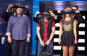 Allison starts her 'Big Brother Canada' experience by being blindfolded prior to entering the house.